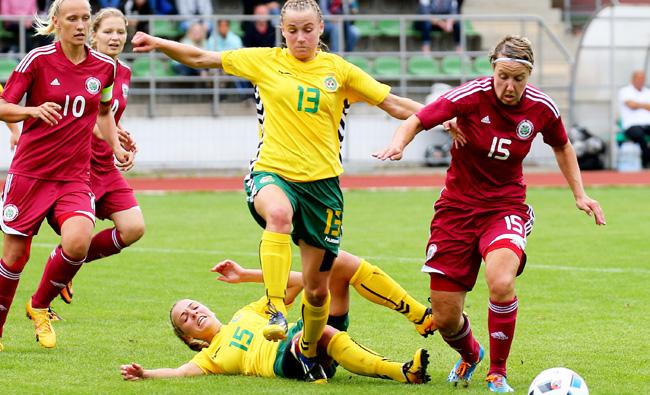 Baltijos taurės starte - moterų rinktinės lygiosios
