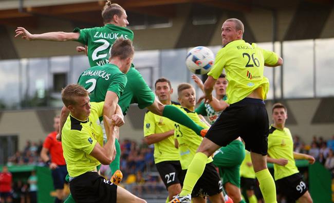 2016 m. LFF taurės aštuntfinalio rungtynių statistika (06 29, 07 05, 08 06, 07)