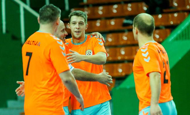 """""""Baltijos"""" klubas pasiruošęs UEFA Futsal taurės debiutui"""