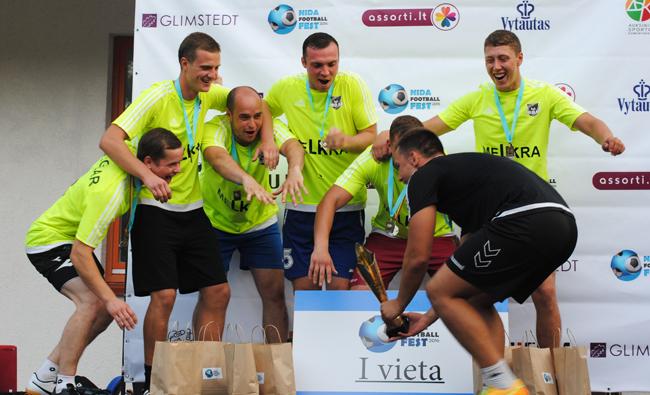 """""""Nida Football Fest"""" taurė liko Klaipėdoje"""