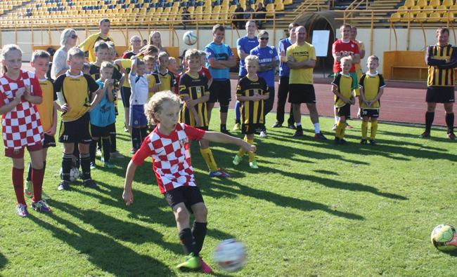 Šiaulių miesto gimtadienio proga – šeimų futbolo turnyras
