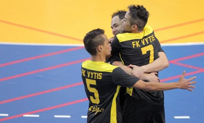 """Kauno """"Vytis"""" – Futsal A lygos čempionai"""