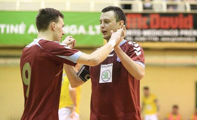 """Futsal A lygoje – """"Baltijos"""" ir """"Bekento"""" pergalės"""