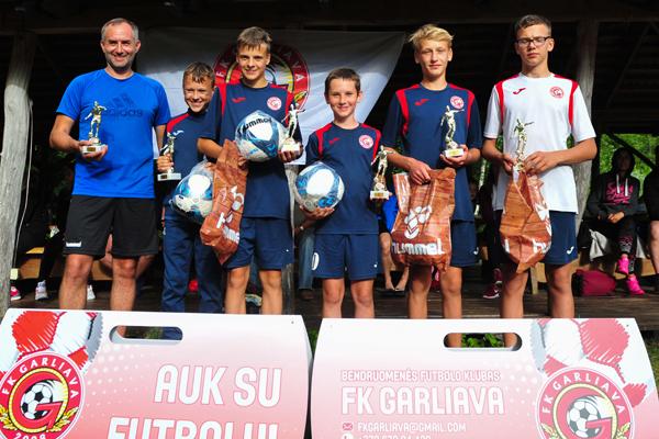 Praūžė Garliavos futbolo klubo bendruomenės šventė