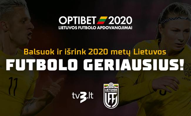 2020-ųjų Optibet Lietuvos futbolo apdovanojimai: pretendentai tapti geriausiu jaunuoju metų žaidėju