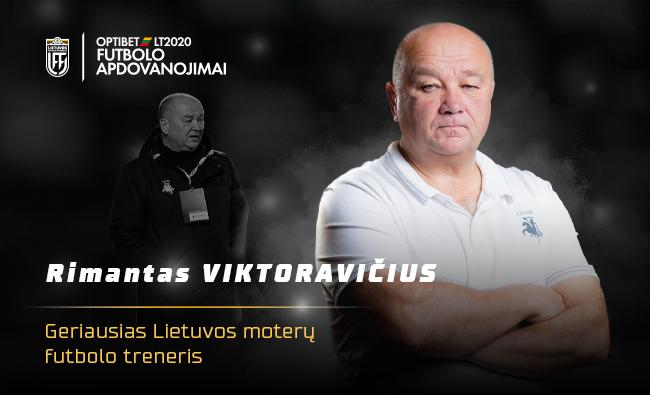 Geriausiu Lietuvos moterų treneriu tapo Rimantas Viktoravičius