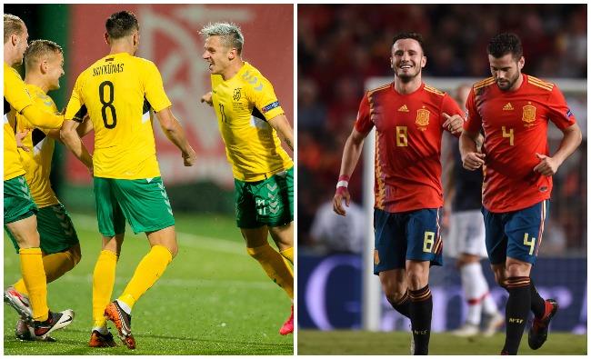 Birželio mėnesį Lietuvos rinktinė sužais kontrolines rungtynes su Ispanija