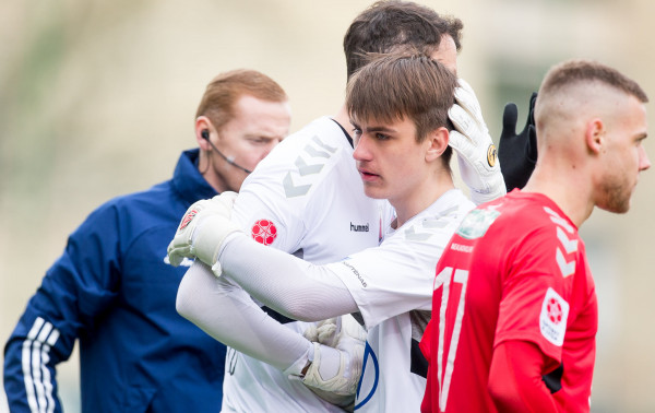 """18-metis """"Panevėžio"""" vartininkas – geriausias balandžio mėnesio jaunasis """"Optibet A lygos"""" žaidėjas"""