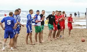 """Išnagrinėta """"Inkaro"""" apeliacija dėl paplūdimio futbolo čempionato rungtynių"""