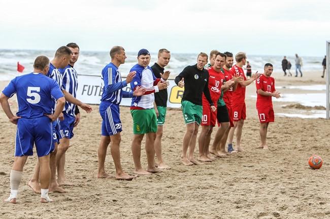 Paskirtos drausminės sankcijos už nutrauktas paplūdimio lygos rungtynes