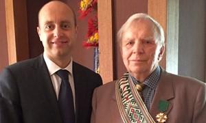 90 metų sukakties proga - sveikinimai buvusiam LFF vadovui