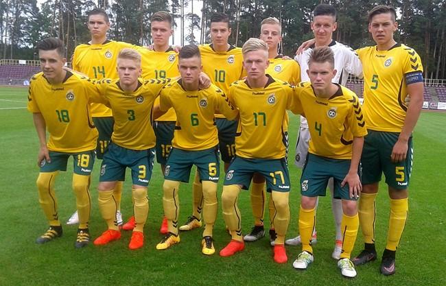 U-17 rinktinė antras rungtynes su baltarusiais baigė lygiosiomis