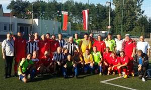 Po pertraukos tradicinį senjorų futbolo turnyrą laimėjo šeimininkai