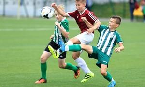 Vilniuje vyko įspūdingo dydžio vaikų futbolo festivalis