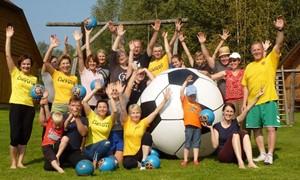 Marijampolės šeimos aktyviai leido laisvalaikį su futbolu