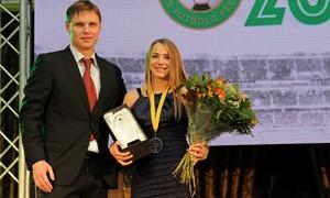 """Geriausia metų futbolininkė V. Neverdauskaitė: """"Neįsivaizduoju savo gyvenimo be sporto"""""""