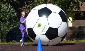 Kačerginės vaikams - įvairios futbolo rungtys
