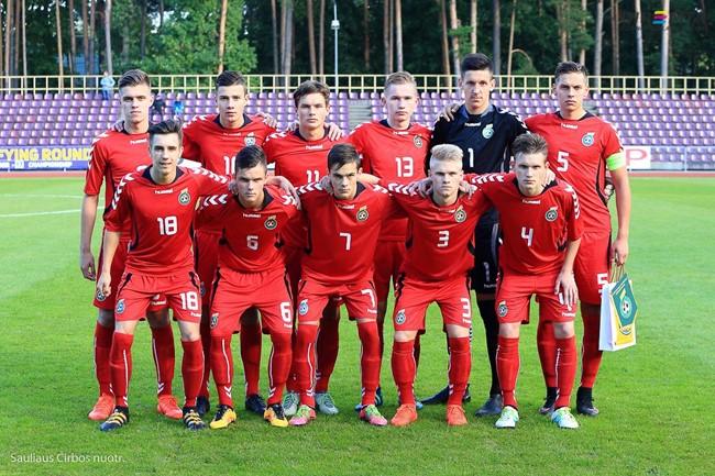 Paaiškėjo U-17 rinktinės varžovai Europos čempionato atrankoje