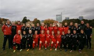 Merginų U-16 rinktinė pergale pabaigė stovyklą Vilniuje