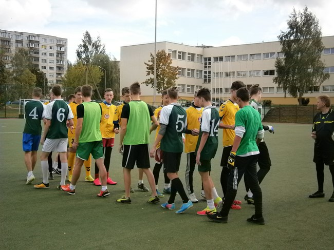 Vilniaus gimnazistų čempionate – kovos dėl ketvirtfinalio