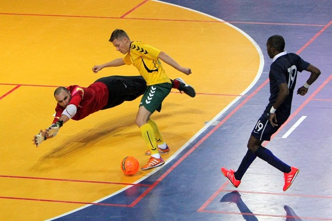 Futsal EURO atrankoje - pažįstami varžovai