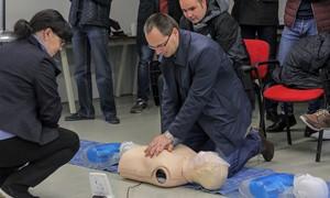 Pirmajai pagalbai - specialus prietaisas ir apmokymai