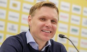 """E. Jankauskas: """"Noriu, kad Slovakijoje žaistume drąsiai"""""""