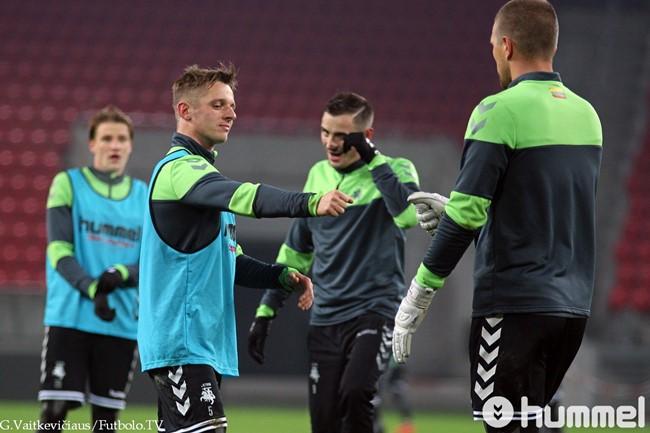 """A. Novikovas: """"Jau norisi nudžiuginti mūsų fanus"""""""