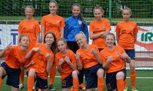 Gargžduose gruodį karaliaus mergaičių futbolas