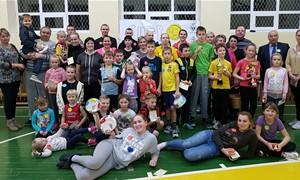 Šeimų sporto šventė Buožėnų mokykloje - darželyje