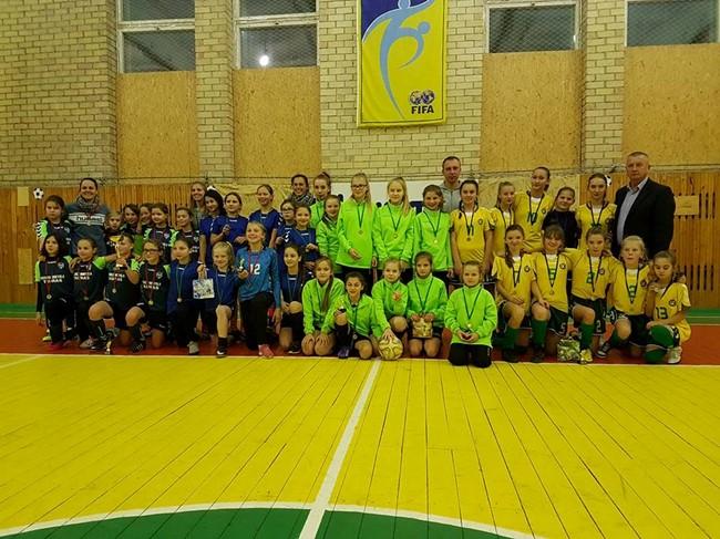Šventupėje surengtas pirmasis Kalėdinis mergaičių turnyras