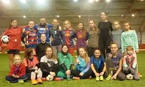 Marijampolėje vyko mergaičių futbolo šventė