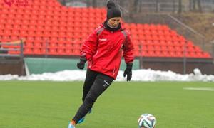 """Geriausia sezono saugė D. Gailevičiūtė: """"Labai džiugu, kai futbolas plečia mūsų akiratį"""""""