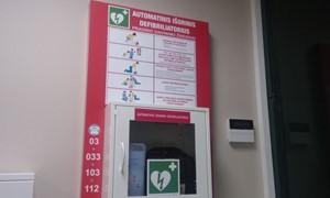 LFF stadione – modernus medicinos įrenginys nelaimių prevencijai
