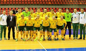 Baltijos Futsal taurėje - lygiosios su estais