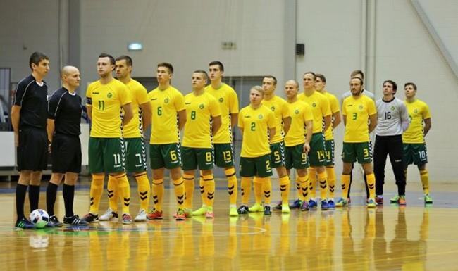 Lietuva Baltijos Futsal taurėje liko antra
