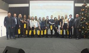 """ŠAFF apdovanojimuose spindėjo """"Gintros-Universiteto"""" merginos"""