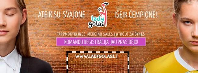 """Tęsiasi """"Ladygolo"""" žaidynių registracija"""