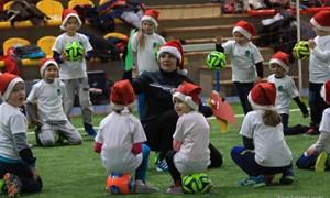 """""""Futboliuko Kalėdų"""" karštinė užkrėtė ir Vilniaus vaikus"""