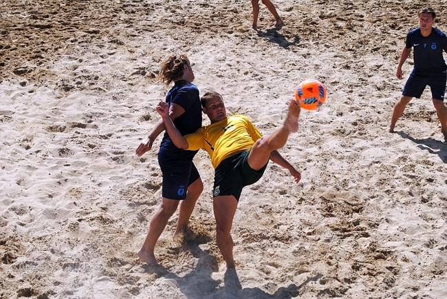 Vilniuje bus surengtos žiemos paplūdimio futbolo pirmenybės