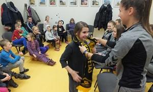 Prieš šventes – Lietuvos čempionių vizitas globos namuose