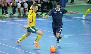 Pirmą kartą Vilniuje – Futsal rinktinių dvikovos