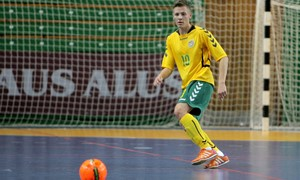 """J. Jeremejevas: """"Futsalas – man ir darbas, ir hobis"""""""