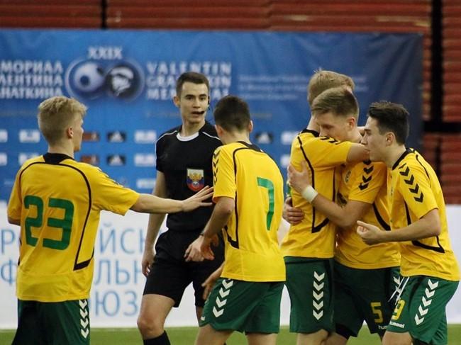 U-18 rinktinė pergale pradėjo V. Granatkino turnyrą