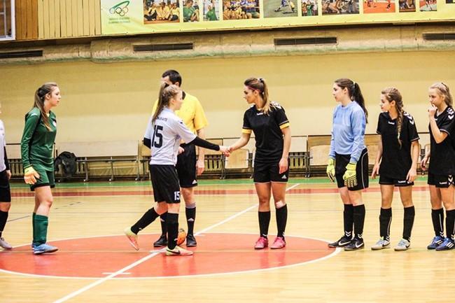 Moterų salės futbolo čempionate žais 9 komandos