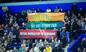 """FIFA Futsal World Cup 2020"" – trijuose miestuose"