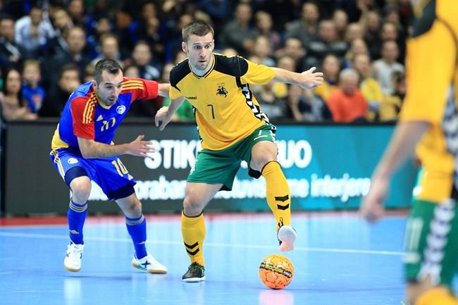 Aptars Futsal rinktinės rezultatus