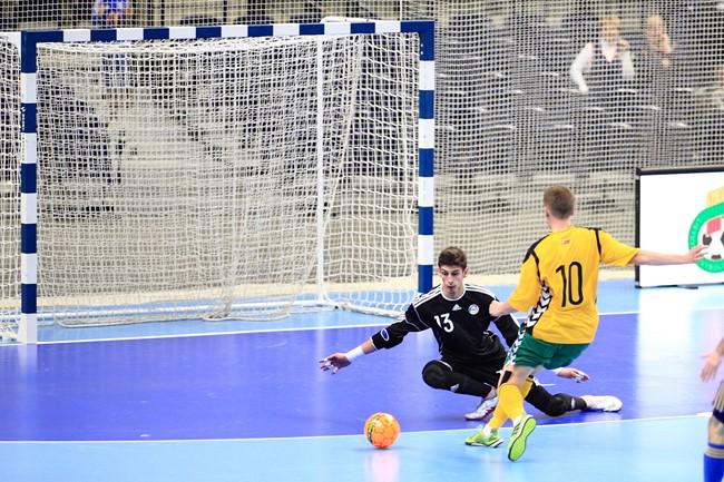 Lietuvos futsal rinktinės atrankos į Europos čempionatą startas – Jonavoje