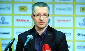K. Rudžionis pasitraukė iš Futsal rinktinės trenerio pareigų