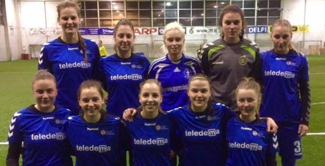 Kaunietės ir šiaulietės kovos dėl LMFA Žiemos turnyro taurės